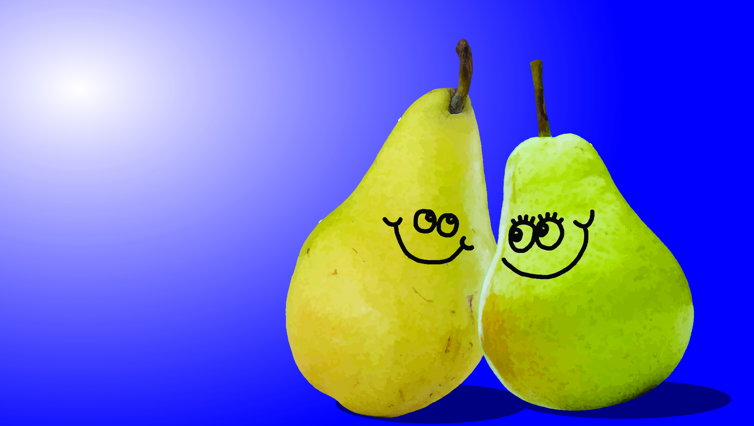 Happy Pear Couple Image